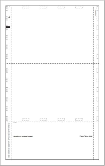 1095 Pressure Seal Forms, Blank - DiscountTaxForms.com