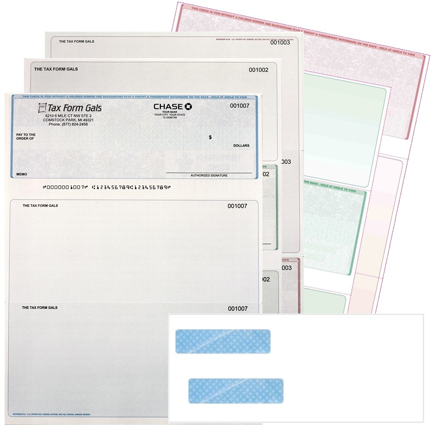 Discount Tax Forms 1099 W2 Checks Folders