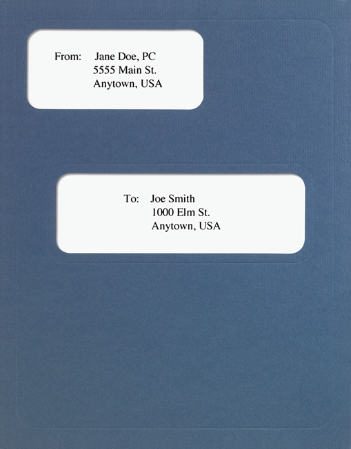 CCH Prosystem Tax Folders with Windows in Blue - DiscountTaxForms.com