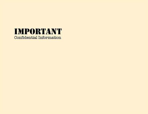 Important Confidential Envelope 10x13 PEB54 - Discount Tax Forms