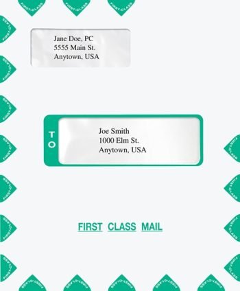 Fist Class Mail Envelope, also compatible with CCH Prosystem software - Discount Tax Forms