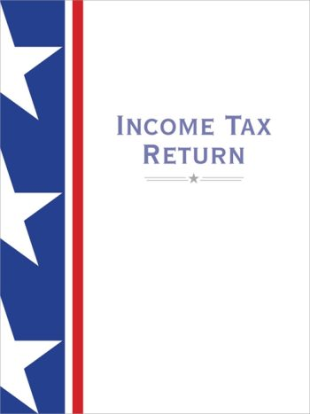 Tax Folder with Bold, Stars and Stripes Design to Make a Professional Statement for Accountants and CPAs #SSF10 - Discount Tax Forms