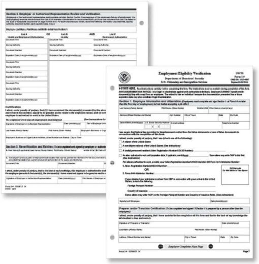 I-9 Forms by ComplyRight - Discount Tax Forms