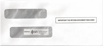1099 Envelope for 1099 Express Software - DiscountTaxForms.com
