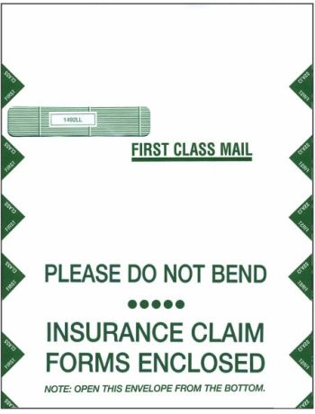 First Class Hospital Envelope Portrait Style